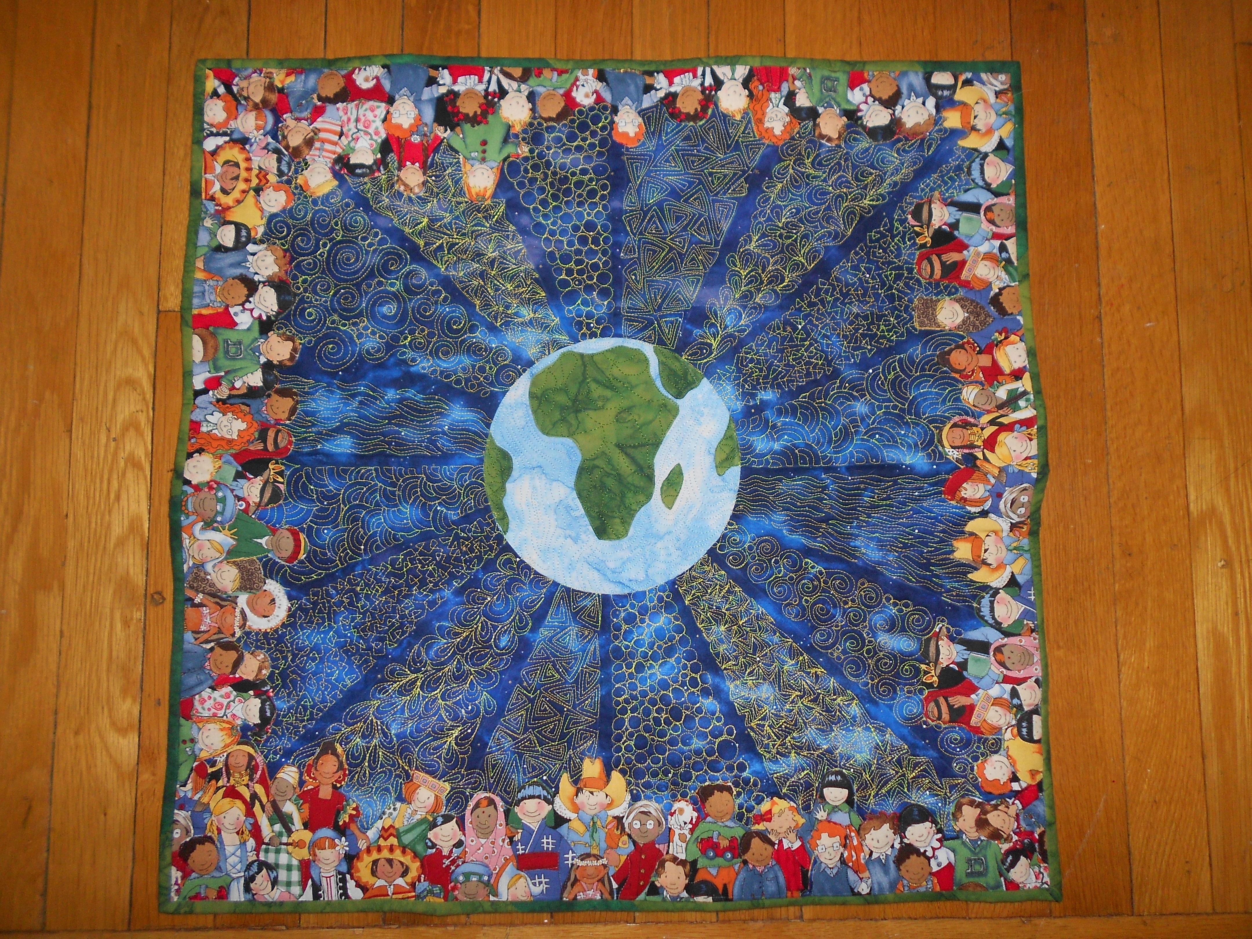 Light=Hope=Light, by Marianne Gravely of Woodbridge, VA