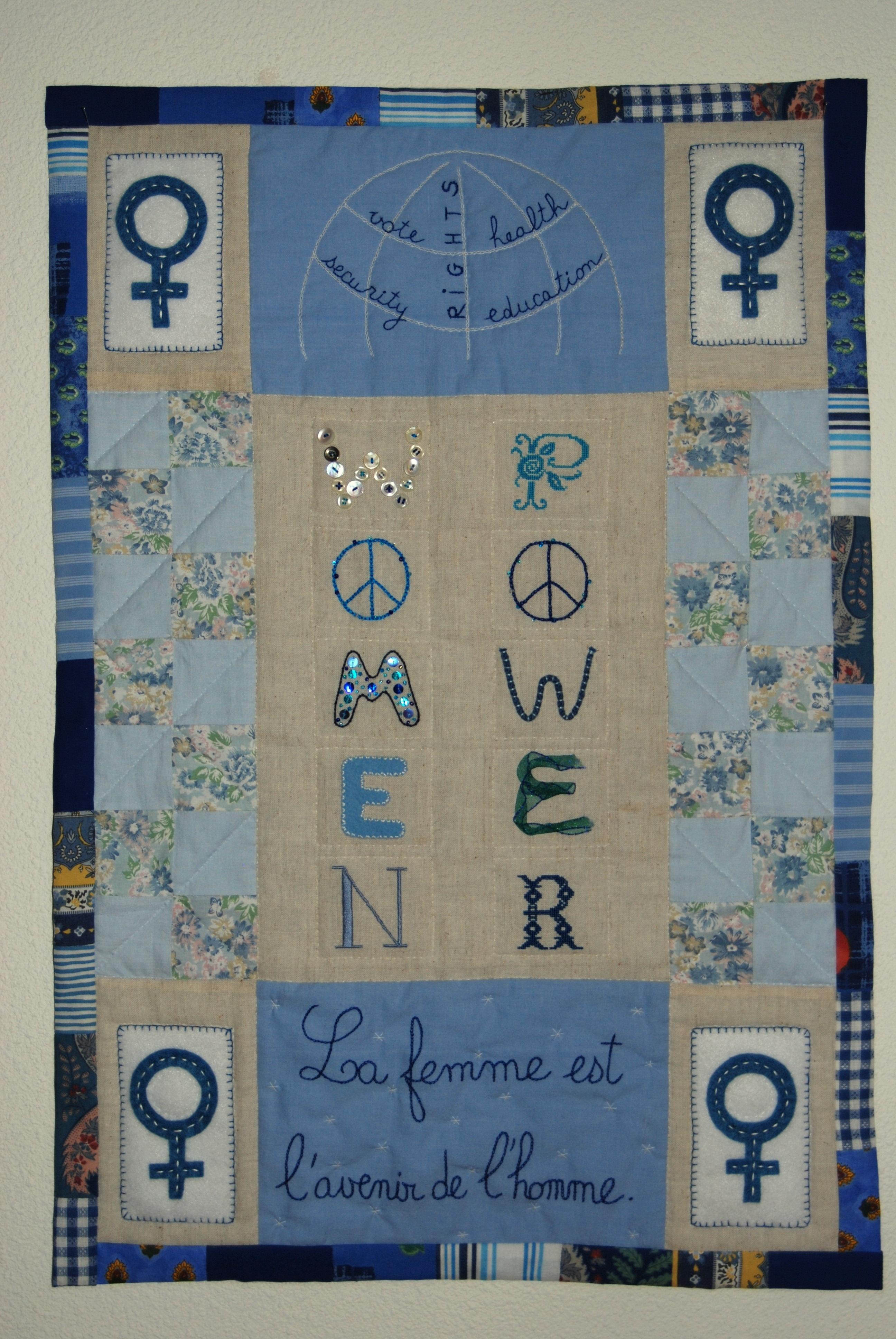 Women Power by Corrine Beque