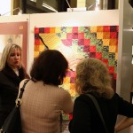 Quilt by Paulette Peters, One World, Hand in Hand
