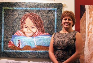 Quilter Dawn Piasta and Halla: An Unexpected Gift