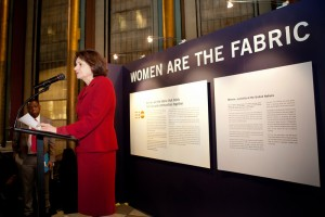 Ambassador Rosemary DiCarlo gives opening remarks