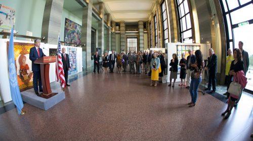 Solar Sister Opening, Geneva, March 2013