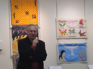 Advocacy Project Director, Iain Guest, speaking at the opening