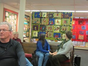 Advocacy Project Quilt at the New England Quilt Museum, March 2015