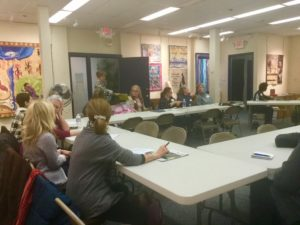 SAQA regional groups meet at the New England Quilt Museum