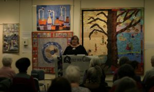 Allison Wilbur of Quilt for Change